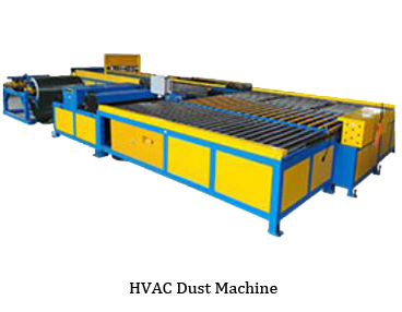 hvac toz makinesi